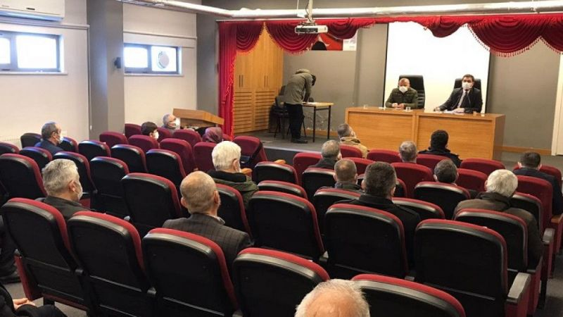 Piraziz'de İdare Şube Başkanları Toplantısı yapıldı
