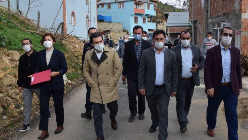 Espiye Kaymakamı Tengir'den köy ziyaretleri