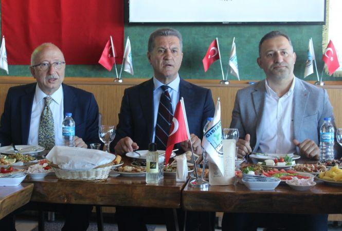 Türkiye Değişim Partisi Genel Başkanı Sarıgül Giresun'da