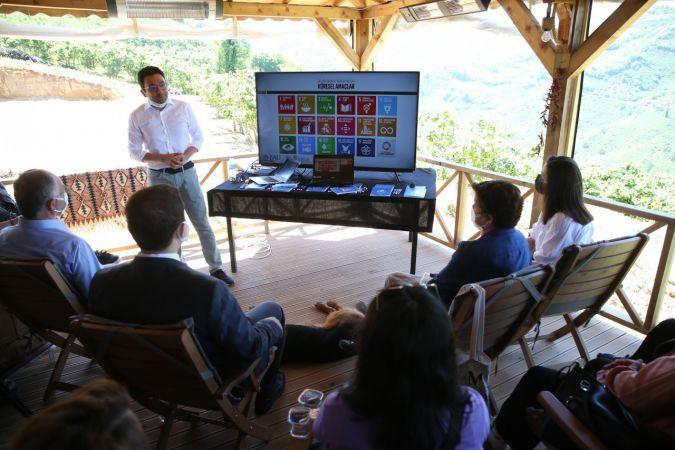 """Giresun'da """"Akıllı Tarım ve Sürdürülebilir Gıda Çalıştayı"""" düzenlendi"""