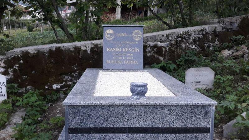 Espiye'de Kurtuluş Savaşı gazilerinin mezarları yeniden düzenlendi