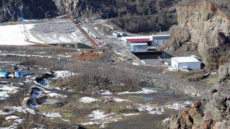 Giresun İli Katı Sıvı Atık ve İçme Suları Birliği üyeleri, katı atık bertaraf tesisinde incelemelerde bulundu
