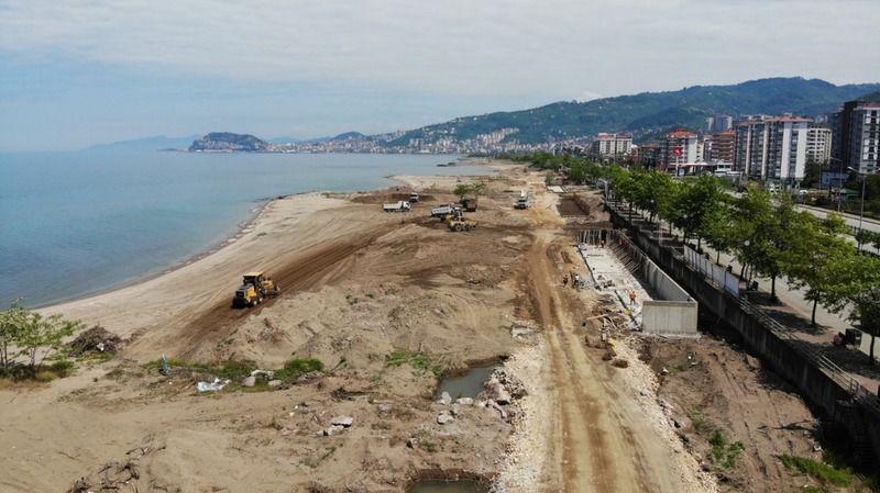 Plajlar Bölgesi Projesi Hızla İlerliyor