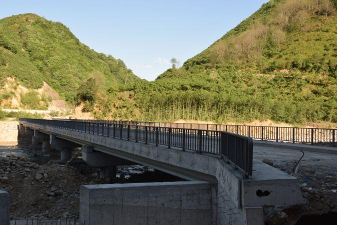 Giresun'da Gürağaç Köprüsü'nün yapımı tamamlandı