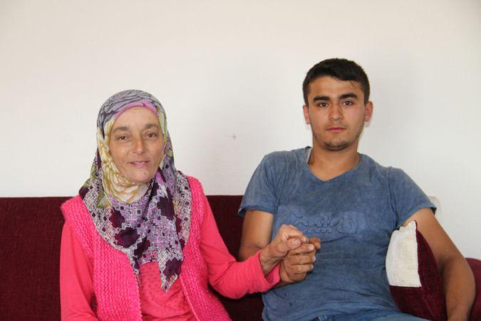 Giresunlu anne, oğlunun böbreğiyle hayata tutundu