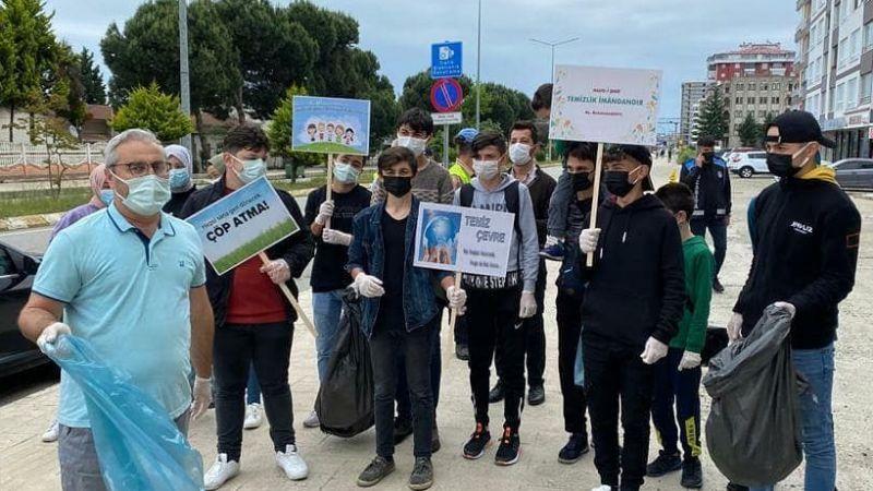 Piraziz'in Yöneticileri Çevre Kirliliğine Dikkat Çektiler