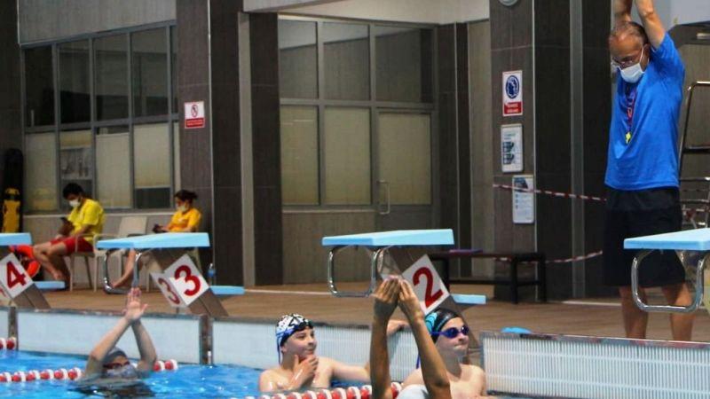 Yüzme antrenmanları sürüyor