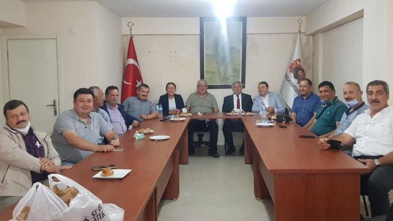 Ak Partili Meclis Üyelerinden Muhtar Derneklerine Ziyaret