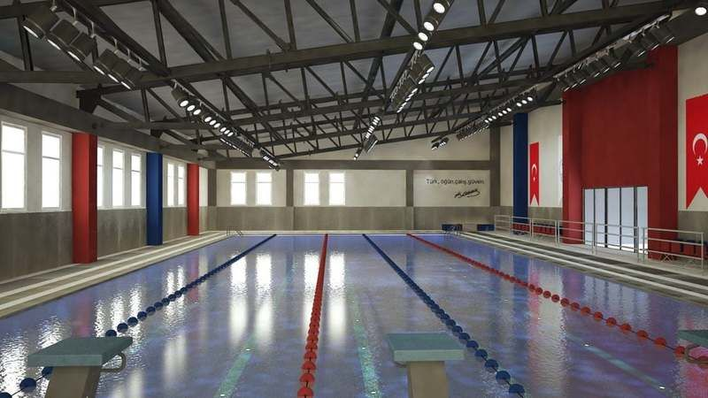 Görele Yüzme Havuzu'nun resimleri paylaşıldı