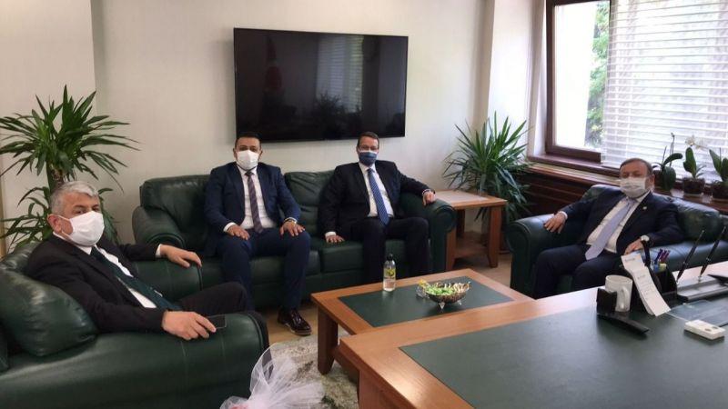 Espiye Belediye Başkanı Karadere, Ankara'da ziyaretlerde bulundu