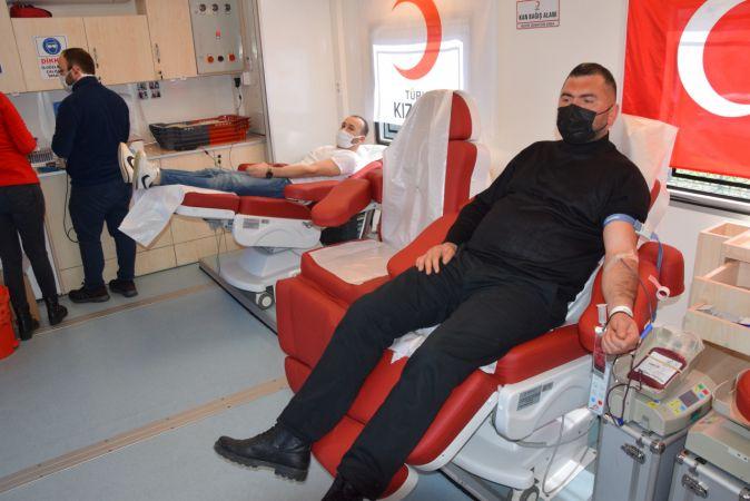 Espiye'de kan bağışı kampanyası düzenlendi
