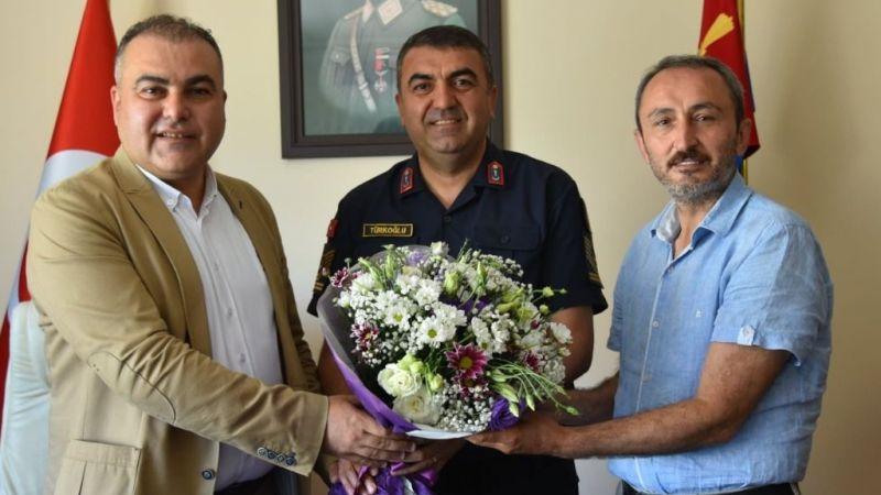 Görele Belediye Başkanı Erener'den Jandarma'ya kutlama ziyareti