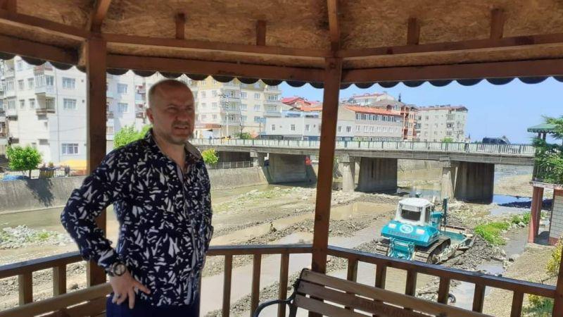 DSİ, Keşap'taki dereleri ıslah ediyor