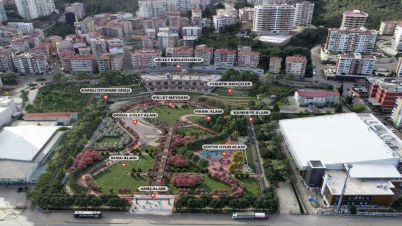 Giresun'a inşa edilecek Millet Bahçesi'nin ihalesi 9 Temmuz'da yapılacak