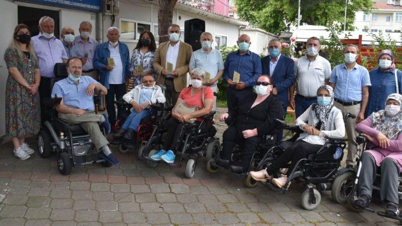 Başkan Erener Karadeniz Omurilik Felçlileri Derneği Kongresine Katıldı