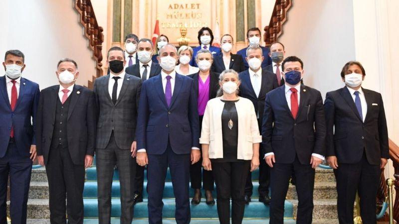 Giresun Baro Başkanı Karademir, Adalet Bakanı ile görüştü