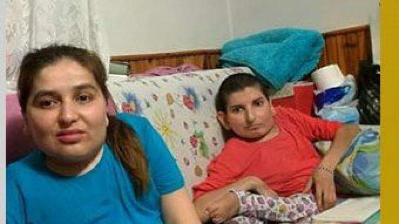 Engelli kardeşler evlerine yol istiyor