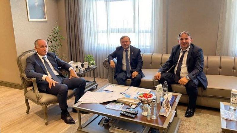 Milletvekili Öztürk, TOKİ Başkanı ile Dereli'yi görüştü