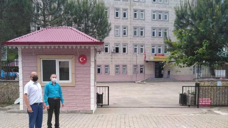 Yağlıdere'de okullarda onarım çalışması başlatıldı
