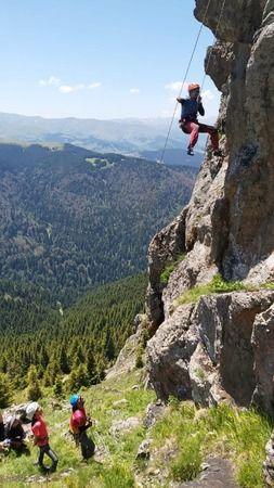 Koçkayasında Kaya Tırmanışı