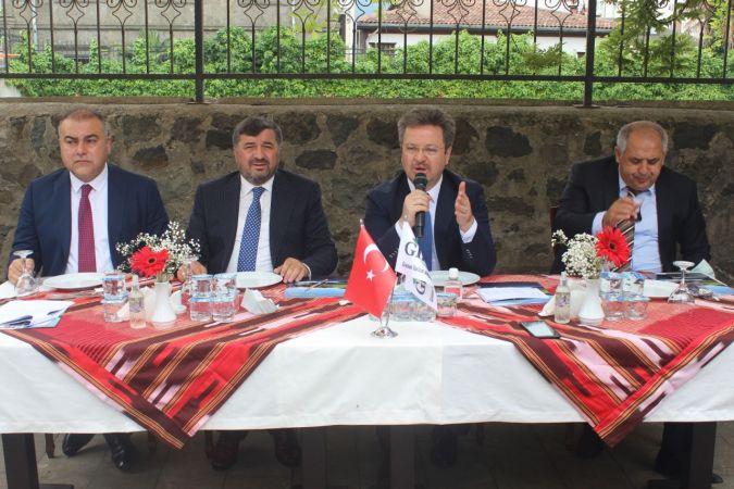 Giresun'daki turizm çalışmaları değerlendirildi