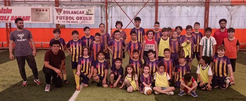 Futbol Okulu Yeniden Faaliyete Başladı