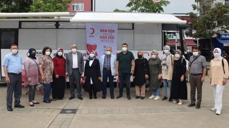 Espiye'de Ak Partili Kadınlardan Kan Bağışı Kampanyası