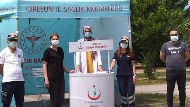 Covid Aşısı İçin Seyyar Çadırlar Kuruldu