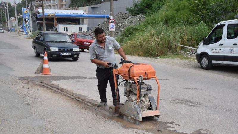Giresun Belediyesi Fen İşleri Hız Kesmiyor