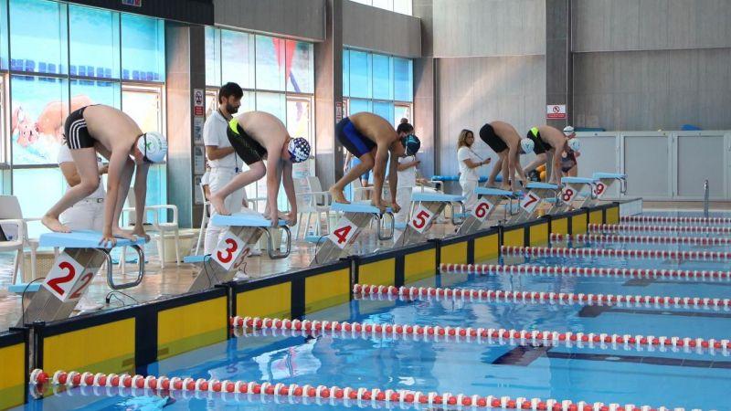 Yüzme Şenlikleri ve test yarışları yapıldı