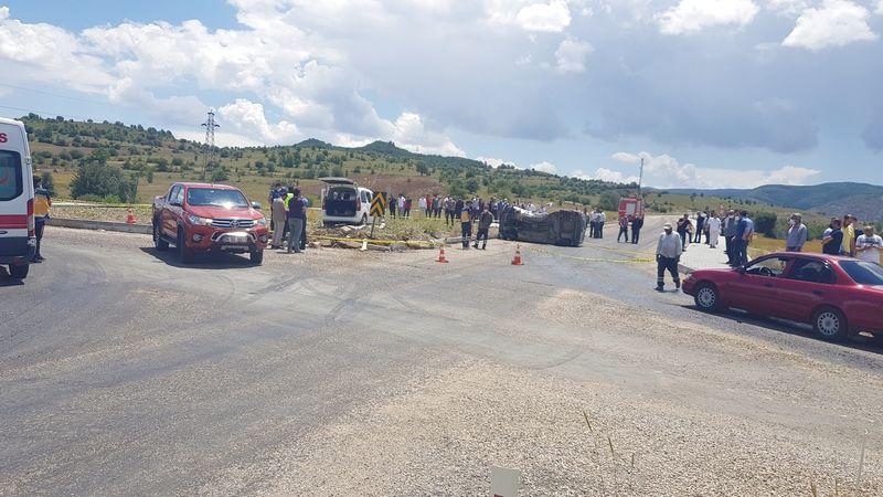 Alucra'da trafik kazası: 1 ölü