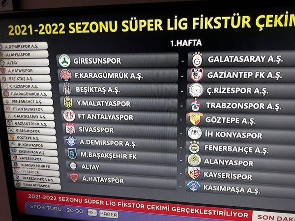 İlk Maçımız Sahamızda Galatasaray'la