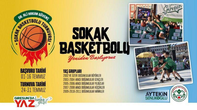 Sokak basketboluna son başvuru: 16 Temmuz