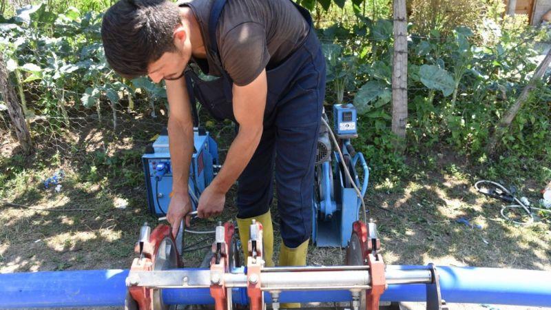 Giresun Belediyesi'nin İçme Suyu Atağı Sürüyor