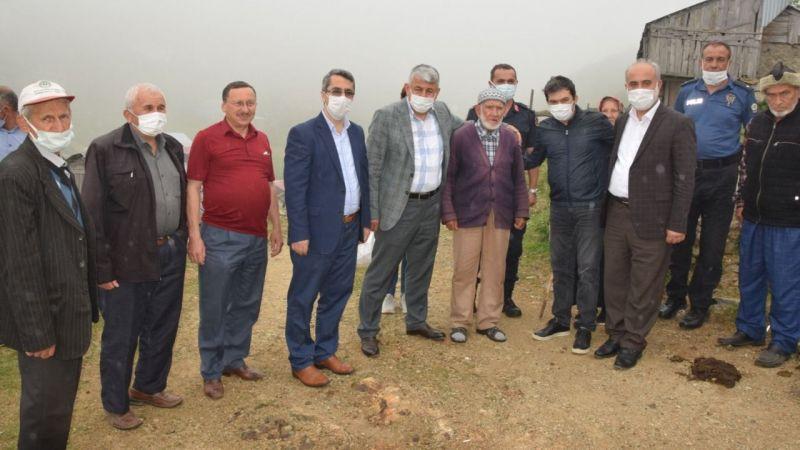 Espiye Kaymakamı Tengir, Kore gazisini ziyaret etti