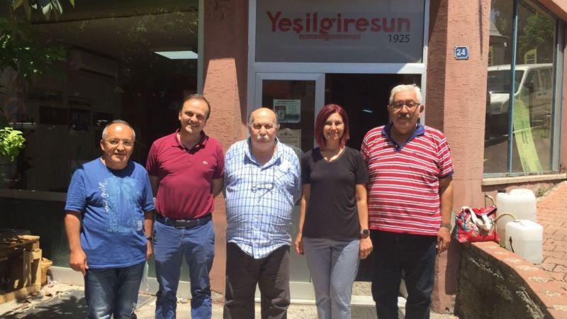 CHP'Li Emecan ve Tığlı'dan Yeşilgiresun'a Ziyaret
