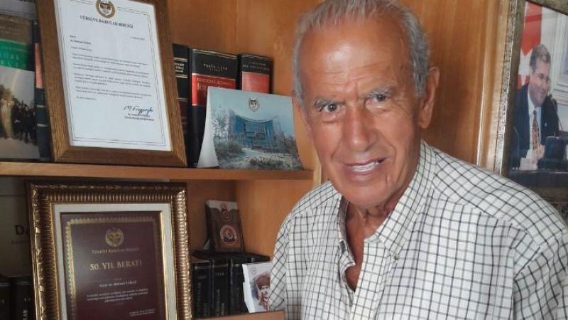 Barolar Birliği'nden Avukat Turan'a 50.yıl beratı