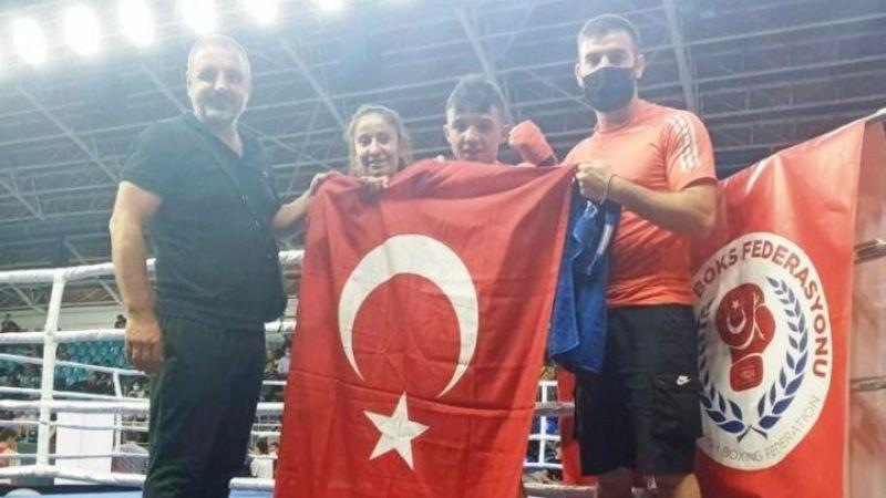 Nazmi Özbay Türkiye Şampiyonu Oldu