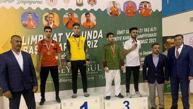 Milli Karatecimiz Burak Özdemir, Türkiye Şampiyonu