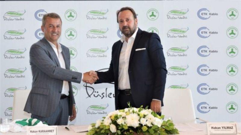 Yılmaz İnşaat & FBA Yapı Giresunspor'a sponsor oldu