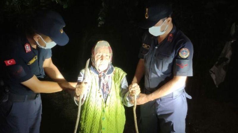 Kayıp Olan Yaşlı Kadın Ormanlık Alanda Bulundu