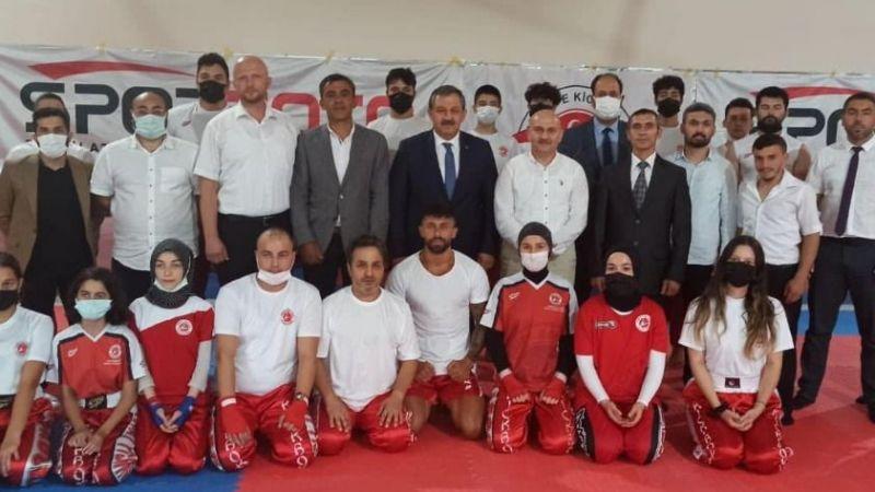 Kick Boks Federasyonu Başkanı Salim Kayıcı'dan Ziyaret