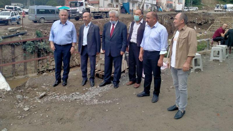 CHP ve İyi Parti Dereli'deki Eksiklikleri Açıkladı