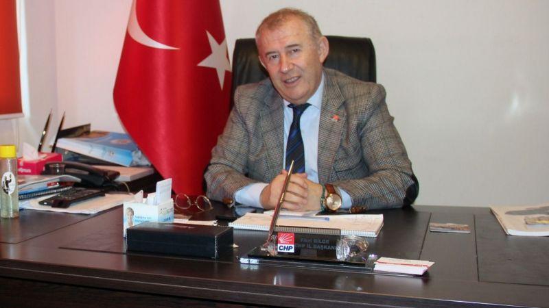 CHP İl Başkanı Bilge'den Borç Açıklaması