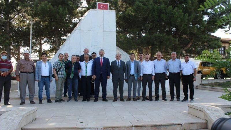 Giresun Şehitleri Afyon İscehisar'da Törenlerle Anıldı