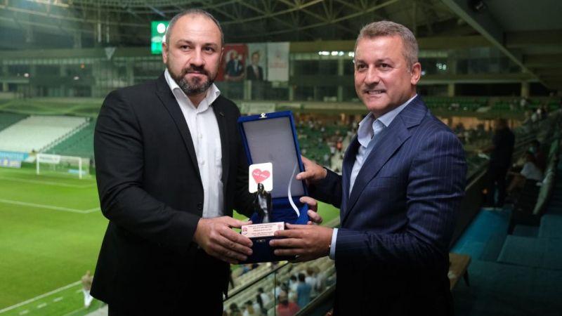 TMOK'dan Giresunspor'a Fair-Play ödülü