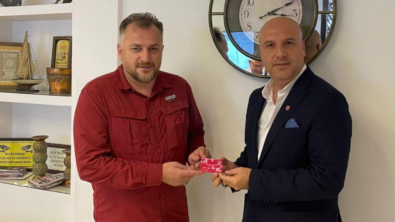Başkan Yıldırım 'Bulancakspor Taraftar Kartı' aldı