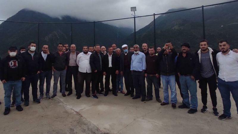 Gümüşhane'den Giresun'a bağlanmak için referandum yapılan Günyüzü köyünde muhtar yapılan haberlere tepkili