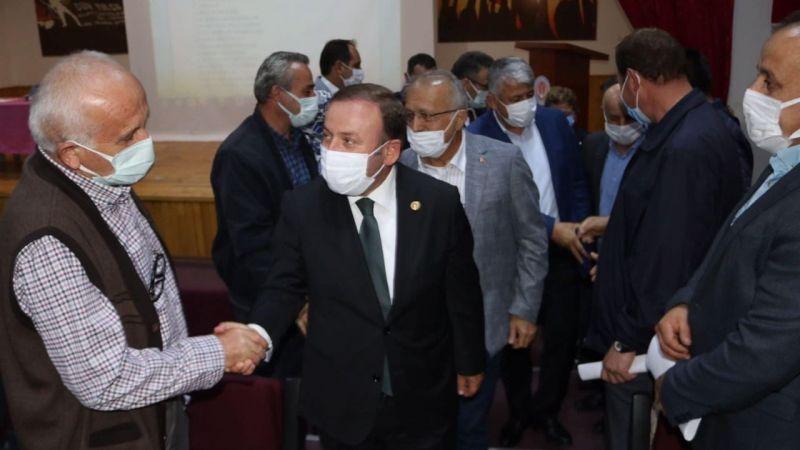 Milletvekili Öztürk Espiye'de Köy ve Mahalle Muhtarlarını Dinledi