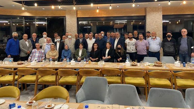 Ak Parti'de Mahalle Başkanları İle Toplantı Yapıldı